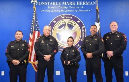 Constable Mark Herman Promotes Four New Supervisors Within The D