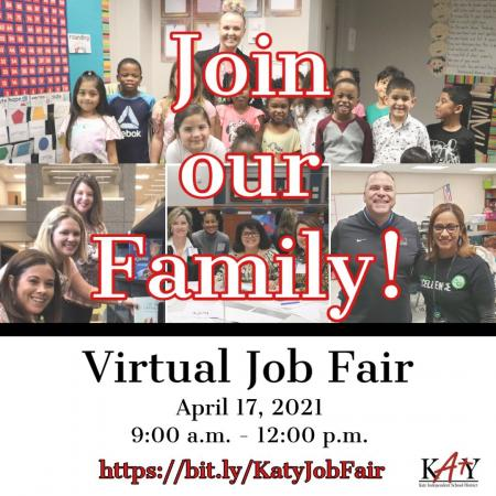 Katy ISD Virtual Certified Teacher Fair